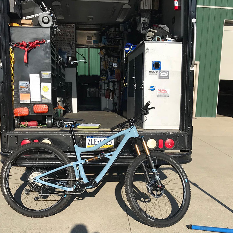 Bike Repair Shop Van